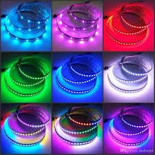 programmable led light strips 5v ws2812b programmable led strip 144 leds rgb addressable light for