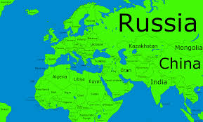 Asia Map With Country Names by Map Of Europe Asia You Can See A Map Of Many Places On The List