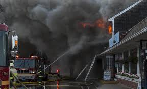 firefighters stop blaze from engulfing downtown provincetown