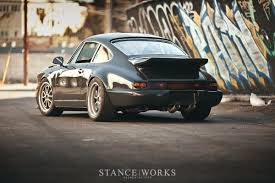 porsche 911 custom stanceworks features new magnus walker 964 build 52 outlaw