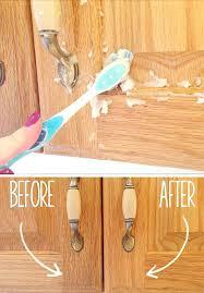 how to clean grease and grime off oak kitchen cabinets dust
