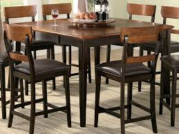 pub style dining table dining room extraordinary dining room design ideas with square wood
