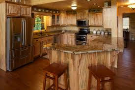Log Floor by Satterwhite Log Homes