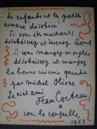 livre cuisine oliver livres de cuisine michel oliver jean cocteau la cuisine est