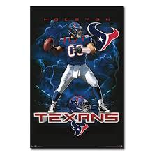 houston texans quarterback 12 wall poster