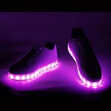 shoes that light up on the bottom nike glowcity pair of led light up shoes multi colored glowcity llc