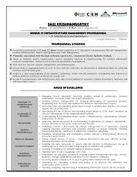 It Manager Resume Example by Resume It Infrastructure Manager Resume
