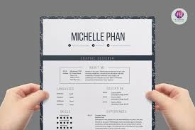 Elegant Resume Sample by Elegant Resume Template Resume Templates Creative Market