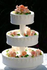 this is why a traditional wedding cake has three tiers