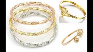 design bangle bracelet images Top 30 latest light weight daily use gold bangle bracelet designs jpg