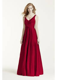 davids bridesmaid dresses satin tank gown david s bridal
