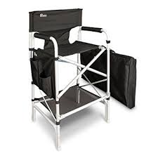 Cheap Director Chairs For Sale Amazon Com Earth Heavy Duty Vip Tall Aluminum Director U0027s Chair