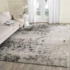 Home Decor Outlet Shop For Safavieh Retro Modern Abstract Light Grey Grey Rug 8 U00279