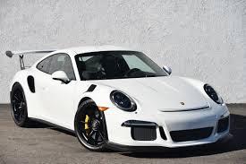 porsche white gt3 2016 porsche 911 gt3 rs 103 miles white coupe h 6 cyl 7 speed