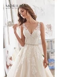 wedding dress ivory mori 5510 martina a line classic wedding dress ivory