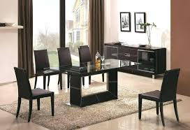 glass top dining room tables rectangular modern glass dining room tables glass top dining table designs