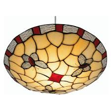 tiffany glass pendant lights oaks lighting tiffany stained glass red ceiling light ot1000rd