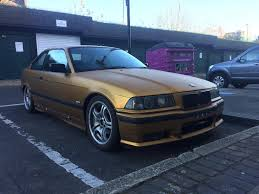 bmw 316i e36 gold swap for e46 320 diesel petrol auto manual in