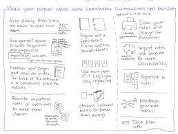 tips for writing a reflection paper making the most of paper notes 2013 11 11 make your paper notes more searchable low tech and