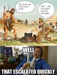 Well That Escalated Quickly Meme - well that escalated quickly meme christian bible versions