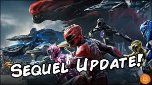 power rangers sequel major update