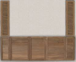 Louvered Cabinet Door Doors Outdoor Kitchen Custom Teak Marine Woodwork Louvered Cabinet