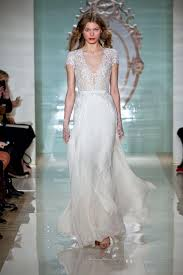 discount 2016 reem acra lace short sleeves beaded a line floor