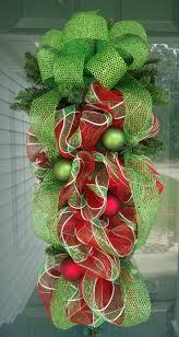swag teardrop swag wreaths