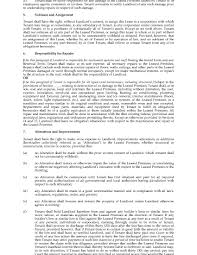 Commercial Lease Sample Ontario Standard Form Commercial Lease Legal Forms And Business