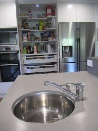brisbane kitchen design kenmore contemporary 2 tone round undermount sink 7 jpg