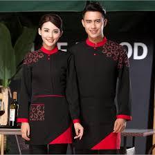 online get cheap uniforms for restaurant staff aliexpress com
