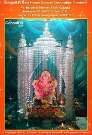decoration themes for ganesh festival at home theme based 20 ganpati home decoration ideas part 2