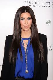 long black hair with part in the middle kim kardashian looks best when she does this with her hair agree or