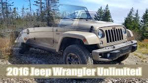 jeep sand color 2016 jeep wrangler unlimited mojave sand 75th anniversary edition