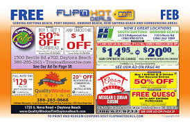 flip u0027nhot deals coupon book feb 2016 daytona beach area by flip