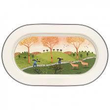design naif oval platter 13 in villeroy boch