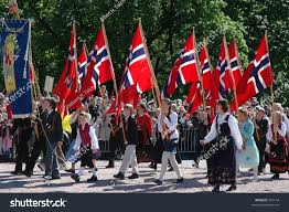 Flag Of Oslo May 17 National Day Childrens Parade Stock Photo 357144 Shutterstock