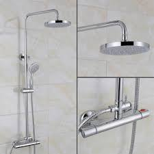 100 swan bath shower mixer taps taps bath shower mixer taps swan bath shower mixer taps swan round thermostatic bar valve riser rail kit