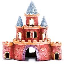 glofish glofish castle ornament banah s wish list