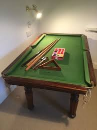 tabletop pool table 5ft vintage slate bed riley table top snooker table in norwich