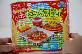 kracie diy candy mix pizza kit japanese make candy pizza at home