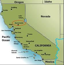 california map of major cities sacramento california ca profile population maps real estate
