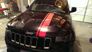 jeep grand cherokee vinyl wrap removing grill chrome rings to be painted page 5 cherokee srt8