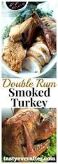 thanksgiving smoked turkey recipe double rum smoked turkey tasty ever after all natural real