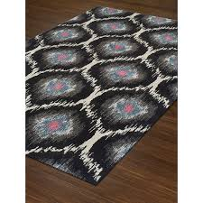 Peacock Area Rug Rugs Platinum Moroccan Grey Peacock Ikat Area Rug 3 3 X 5