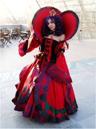 queen of hearts cosplay by metalqueen94 on deviantart alice in