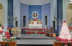 simple decorating church for christmas ideas decorations home