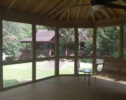 screened porch roberta ga screened porch builder archadeck of central ga