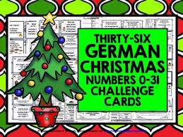 german numbers 0 31 challenge cards by livelylearning