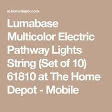 solar powered silver heavy duty integrated led dock deck and  with lumabase multicolor electric pathway lights string set of  from pinterestcom